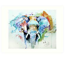 Splash of colour Art Print