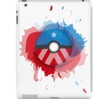 Marvel's Captain America - Pokeball - Abstract iPad Case/Skin