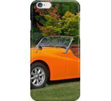1960 Triumph TR 3a iPhone Case/Skin