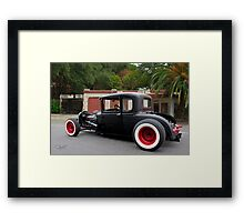 1930 Ford 'Fifties Style' Hot Rod Coupe Framed Print