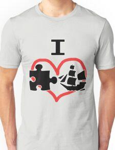 I Puzzle Ship  Unisex T-Shirt