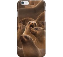 Surrounded by fur iPhone Case/Skin