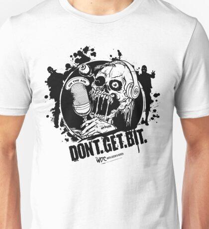 Don't. Get. Bit. (light colors) Unisex T-Shirt