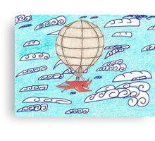 SteamPunkBlimp2 Canvas Print