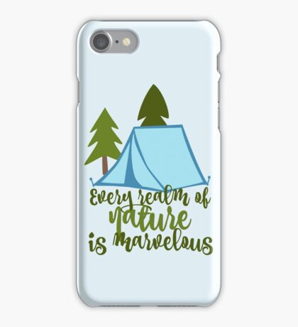Every Realm of Nature is Marvelous - Aristotle iPhone Case/Skin