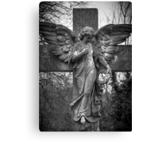 Angel on a Cross Canvas Print