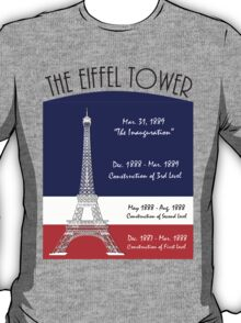 The Rise of  Eiffel Tower  T-Shirt
