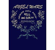 Angel Wars Photographic Print