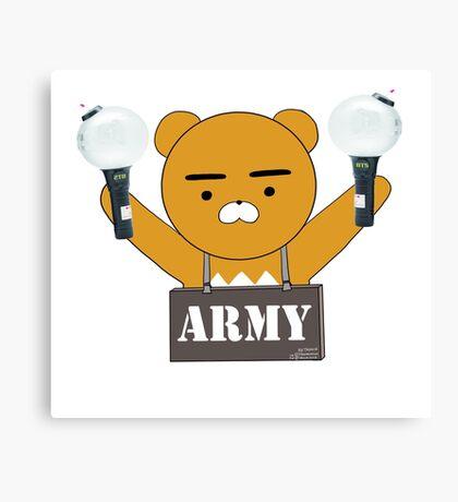 BTS ARMY Canvas Print
