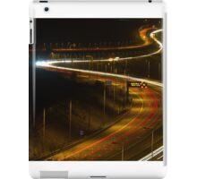 light trails iPad Case/Skin