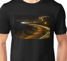 light trails Unisex T-Shirt
