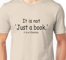 it is not just a book - yellow Unisex T-Shirt