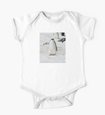 "Chinstrap Penguin  ~  ""Traffic Cop on Point Duty"" One Piece - Short Sleeve"