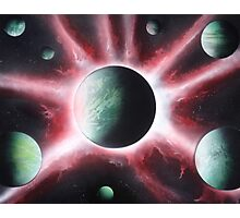Galaxy Connection Photographic Print