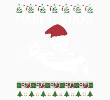 make it Snow Xmas Baby Tee
