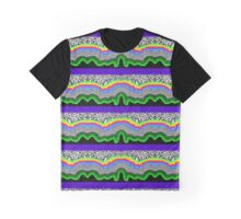Psychedelic Flow Graphic T-Shirt