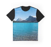 Bow Lake Photography Print Graphic T-Shirt
