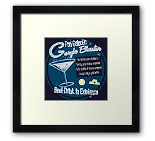 The best drink in existence! Framed Print