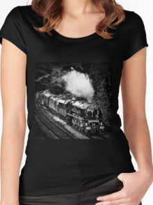 The Scarborough Flyer Women's Fitted Scoop T-Shirt