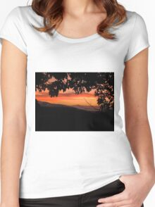 Wind Mills Women's Fitted Scoop T-Shirt