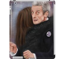 12th Doctor, not a hugging person iPad Case/Skin