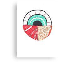 EyeHeartBrain Canvas Print