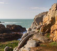 Coastal scene on guernsey, by chris2766