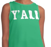 Y'all - Country Contrast Tank