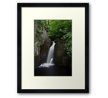 Idyllic Waterfall  Framed Print