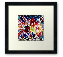 Graffiti-4 Framed Print
