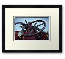 Traction engine close up collection 3 Framed Print