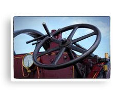 Traction engine close up collection 3 Canvas Print