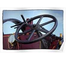 Traction engine close up collection 3 Poster