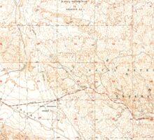 USGS TOPO Map California CA West Elk Hills 301278 1954 24000 geo Sticker