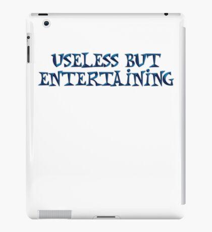 Useless but entertaining iPad Case/Skin