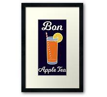 Bon Apple Tea Framed Print