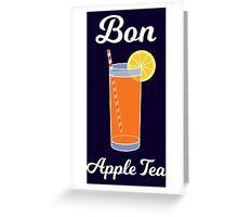Bon Apple Tea Greeting Card