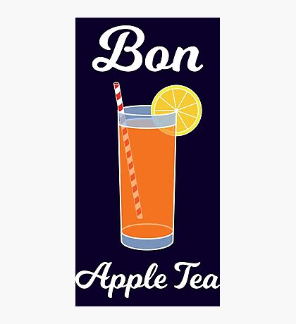 Bon Apple Tea Photographic Print