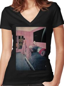Scheletri nell'armadio Women's Fitted V-Neck T-Shirt