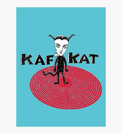 Kafka Cat Metamorphosis Photographic Print