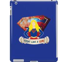 Fight like a (Super)girl iPad Case/Skin