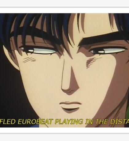Muffled Eurobeat Sticker