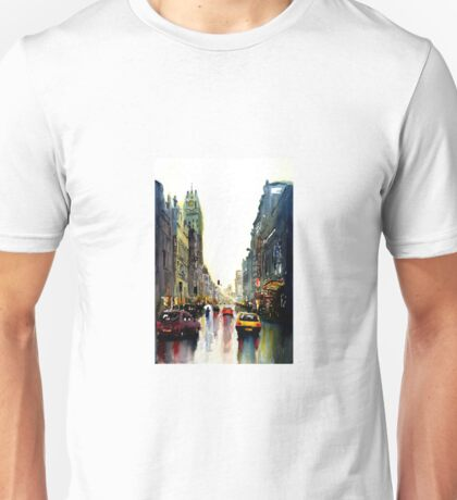 Evening in the city Unisex T-Shirt