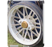 Traction engine close up collection 2 iPad Case/Skin