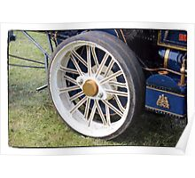 Traction engine close up collection 2 Poster