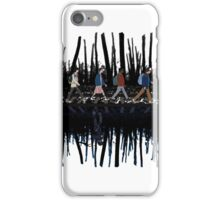 Stranger Abbey Road - Upside down iPhone Case/Skin