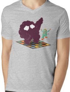 Emoc getting into the groove Mens V-Neck T-Shirt