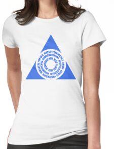Azorius Senate Symbol Womens Fitted T-Shirt
