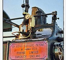 Traction engine close up collection 5  by Avril Harris