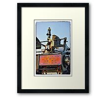 Traction engine close up collection 5  Framed Print